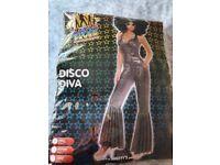Disco diva fancy dress costume