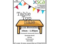 Stall holders wanted for a Table Top Sale
