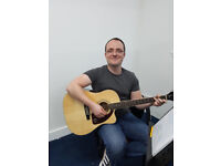 Adam Bowman Guitar and Ukulele Tutor for all ages and ability levels .