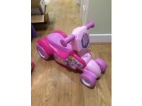 My little pony scooter/ride on