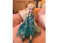 Disney Frozen 30 inch Singing Plush Doll - Elsa