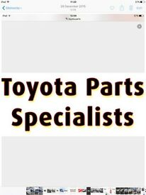 TOYOTA CELICA COROLLA AVENSIS verso damaged spares upgrade accessories bought