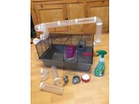 EXTRA LARGE HAMSTER CAGE WITH LOTS OF ACCESSORIES
