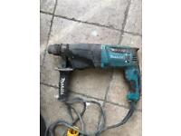 Makita drill HR2610 spares or repair