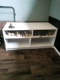 FREE WHITE WOOD CABINET
