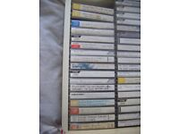 LARGE JOB LOT-VARIOUS MUSIC ON CASSETTES -OFFERS CONSIDERED