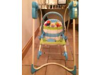 Fisher Price Swing n Rocker VGC