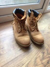 Timberland boots size 8 - 8.5