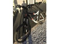 """Mountain Bike Kona One20 full suspension 18"""" frame £295 collection from East Wittering"""