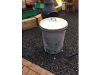 Garden Incinerator / Burning Bin Used Once