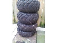 quad wheels and tyres for sale