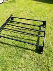 Universal fit roof rack for cars without Rain gutters