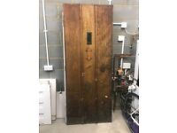Front door from 1920's house - solid wood