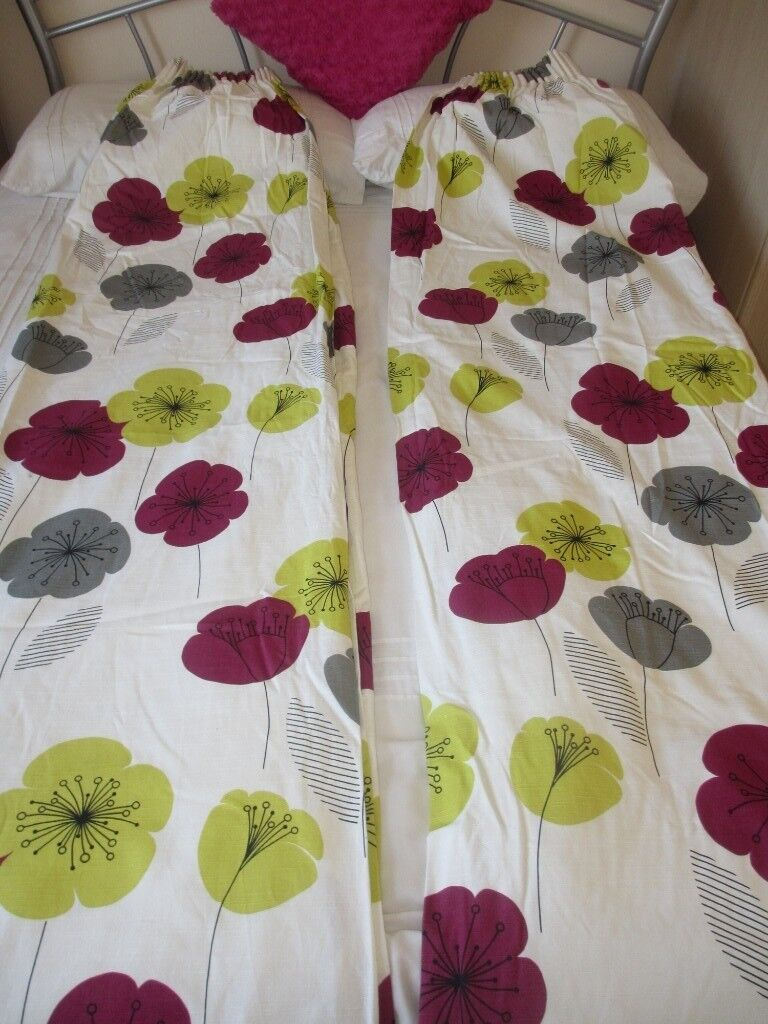 Curtains 210cm Drop By 210cm Width Or 82 Inch Drop By 82 Inch Width