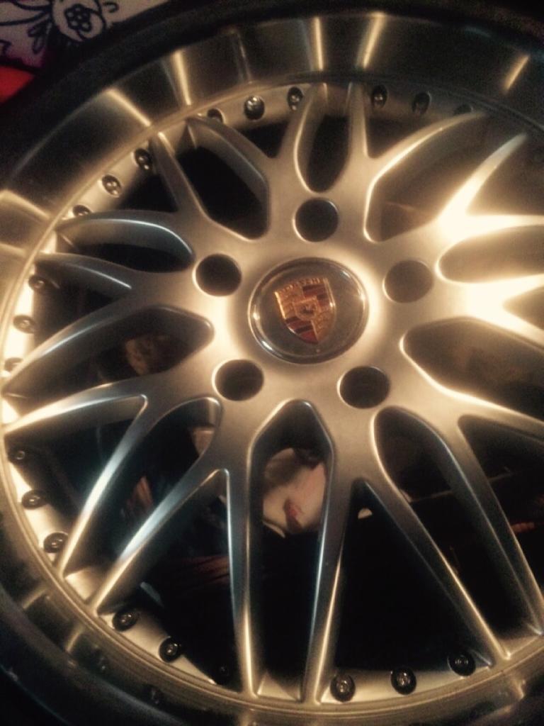 Porsche 993 turbo / Carrera wheels