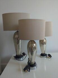 Next Glass Table Lamps (Read description)