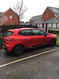 Renault Clio 2016 plate