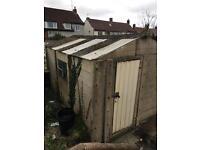Concrete garage free