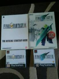 Final Fantasy 7 & 9 Mint and VGC Complete