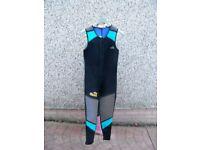 Small Typhoon Wet Suit 1 x Small Jacket & 1 x Medium Bodice (Small to medium Adult)