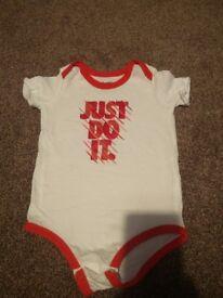 Nike baby boy bodysuit