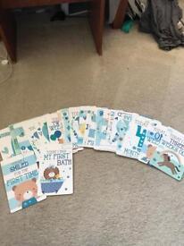 Boy milestone cards