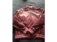 Burgundy Fred Perry bomber Jacket (L) would fit medium