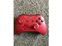 GENUINE XBOX ONE WIRELESS CONTROLLER / PAD BRAND NEW 1 X RED