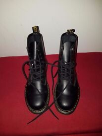 Size 4 ladies Doc Martens for sale . Only worn twice excellent condition.