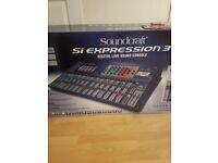 soundcraft si expression 3 digital live sound console
