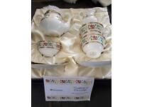 Westminster tea set for 2 limited edition never used