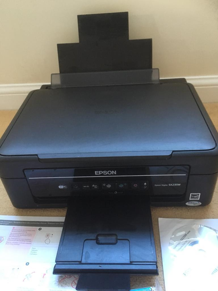 Epson Stylus SX235W WiFi Printer / Scanner