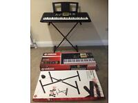 Yamaha digital keyboard with stand all comes boxed