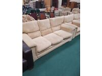 Very comfy 3 Seater sofa and 2 matching Armchairs (Local Delivery available )