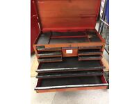 Large 10 Drawer Britool Tool Chest with key