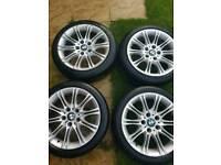 BMW M Series alloys 215/45 R17