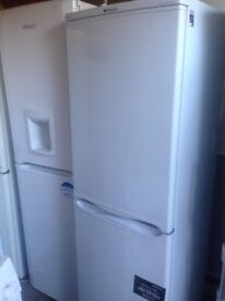 Hot point fridge freezer 50/50...cheap free delivery