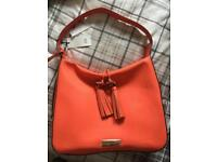 Brand new orange river island bag