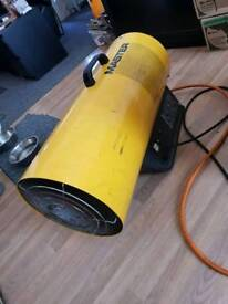 Space heater industrial garage workshop
