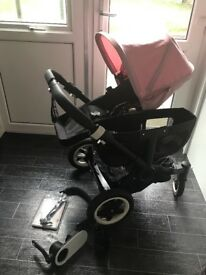Bugaboo donkey mono and accessories!