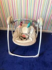 Musical swing chair