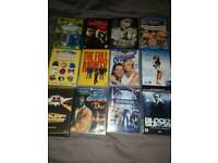 DVDs approx 20
