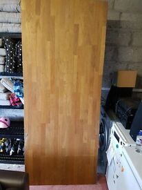 Solid wood Dining table 220 x 80 cm
