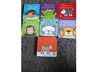 Set of 7 Osborne touchy feely books (that's not my...)