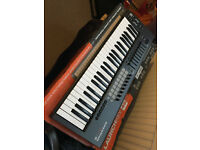 NEARLY NEW. 49 KEY NOVATION LAUNCHKEY MIDI KEYBOARD.
