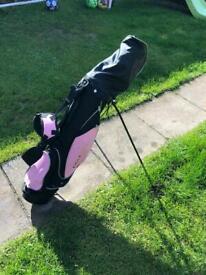Girls golf set