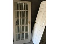 Colonial style doors (white) x 12