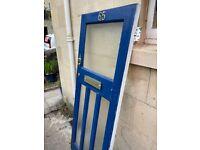 Front Door - 1930s wooden