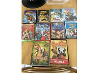 Free to collector kids dvd bundle