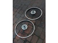 Bike wheels 22 inch light weight